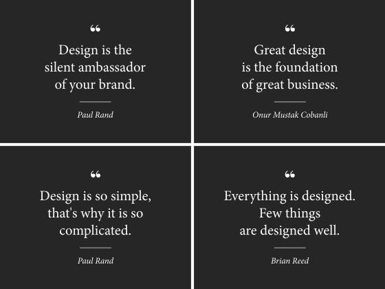 Oblikovanje je resna stvar